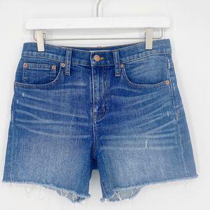 Madewell High-Rise Denim Shorts Size 25